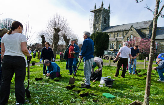 The Mayors Civic Day March 2012 - Shaftesbury Snowdrops
