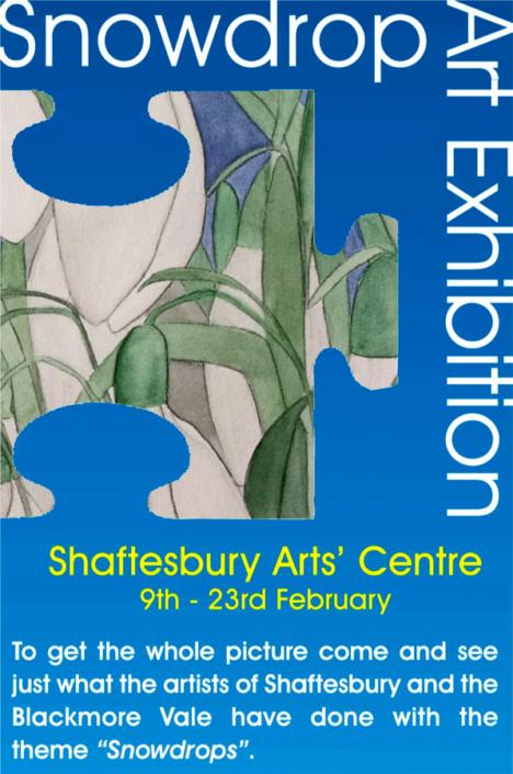 Zara McQueens image in poster 2013 - Shaftesbury Snowdrops