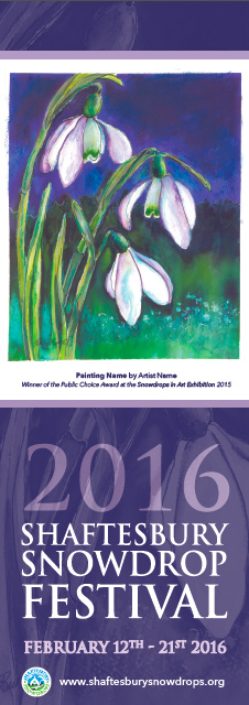 whole poster - Shaftesbury Snowdrops