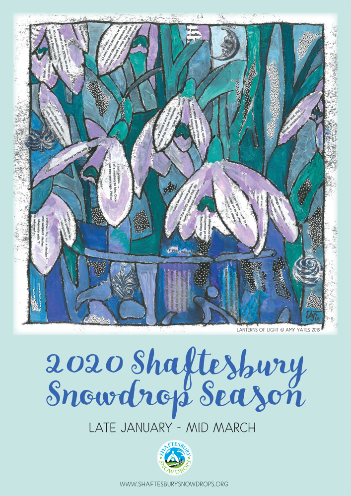 2020 Poster - Shaftesbury Snowdrops