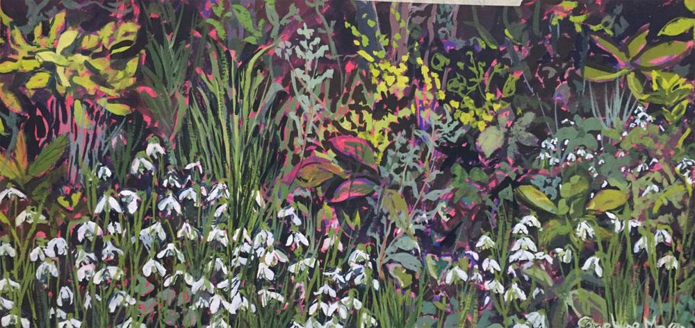 Shaftesbury Snowdrops Exibition 2021 - Carolyne Moran