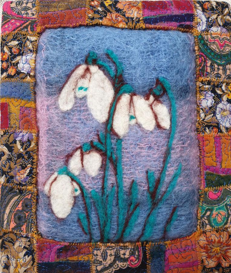 Shaftesbury Snowdrops Exibition 2021 - Hazel Keating