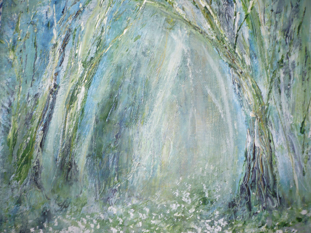 Shaftesbury Snowdrops Exibition 2021 - Jude Taylor - Misty Woodland