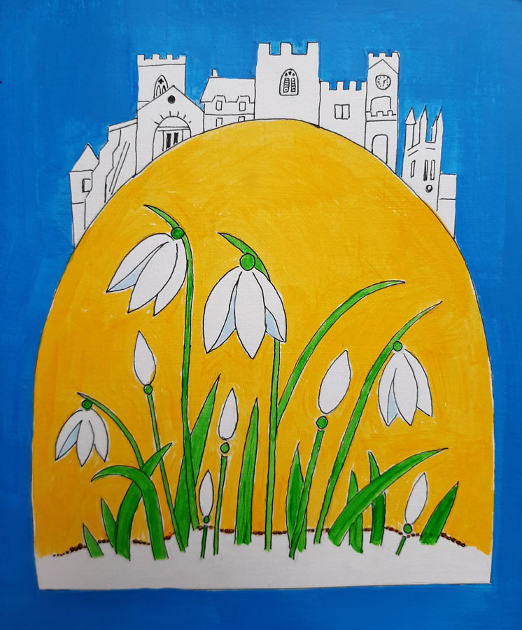 Shaftesbury Snowdrops Exibition 2021 - Rachel Bellamy