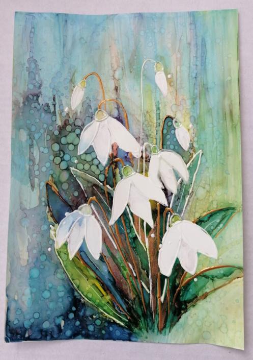 Shaftesbury Snowdrops Exibition 2021 - Sharon Houston-McMillan