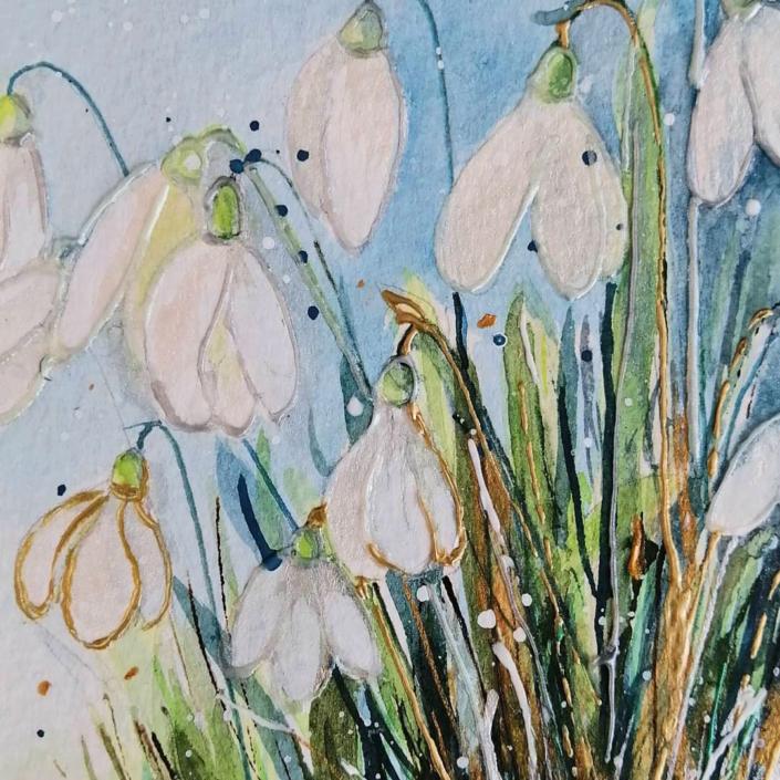 Shaftesbury Snowdrops Exibition 2021 - Sharon McMillan 1