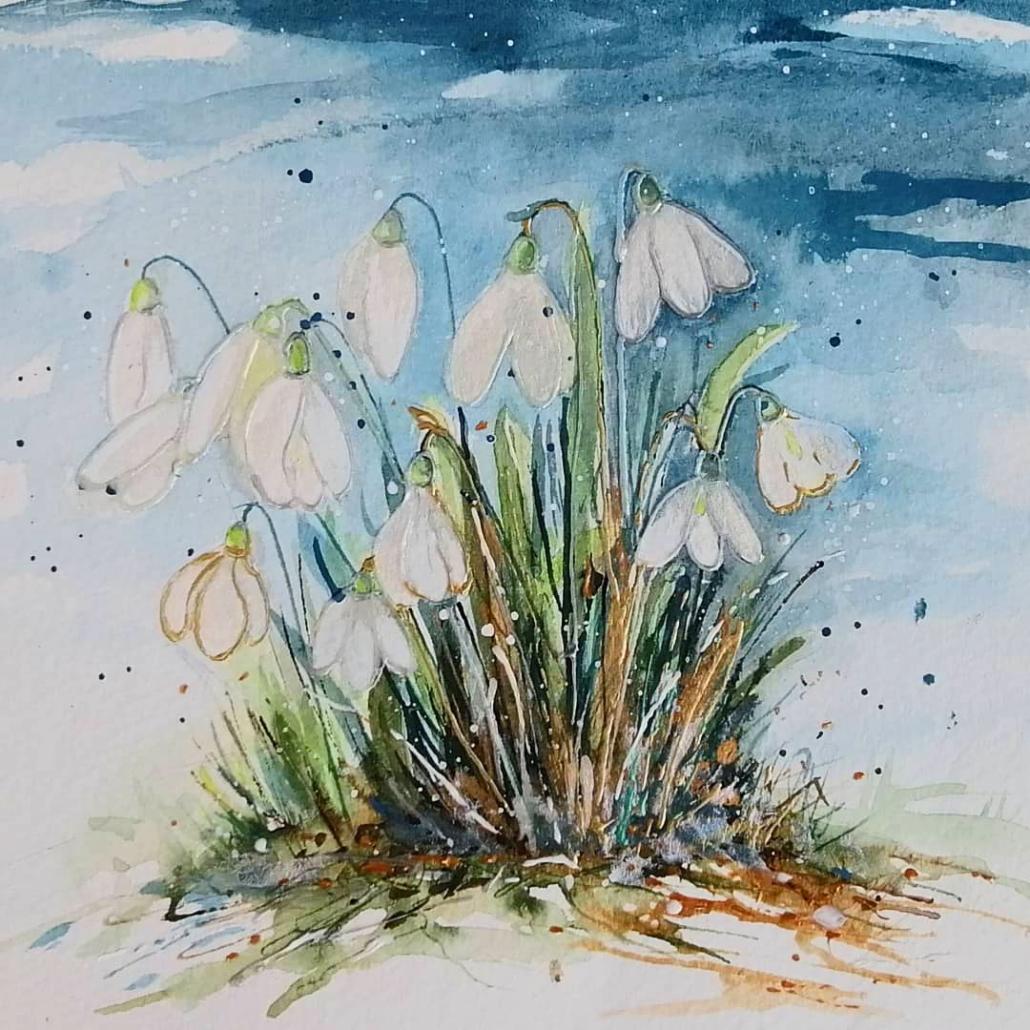 Shaftesbury Snowdrops Exibition 2021 - Sharon McMillan 2