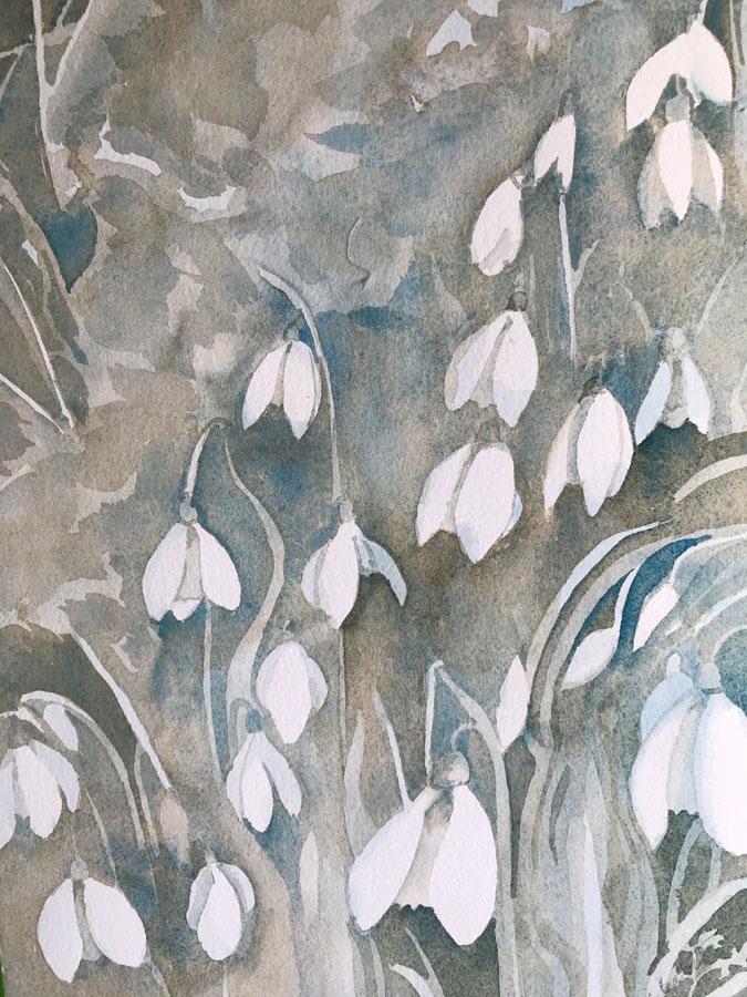 Shaftesbury Snowdrops Exibition 2021 - Sue Bates 1